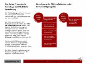 Erbrecht-Pflichtteil-Pflichtteilsberechnung | Fachanwalt für Erbrecht Detlev Balg * Köln