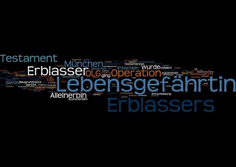 Beschluss des OLG München vom 15.05.2012