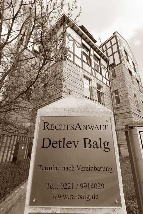 Erbrecht * Rechtsanwalt und Fachanwalt für Erbrecht | Kanzlei Balg - Köln