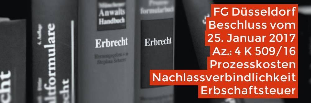 Erbrecht: Prozesskosten Nachlassverbindlichkeit Erbschaftsteuer | Kanzlei Balg - Rechtsanwalt Erbrecht Köln - Fachanwalt Erbrecht Köln