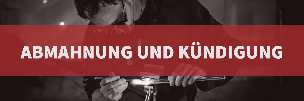 Arbeitsrecht: Abmahnung und Kündigung | Rechtsanwalt Arbeitsrecht Köln | Kanzlei Balg und Willerscheid - Rechtsanwälte und Fachanwälte Köln