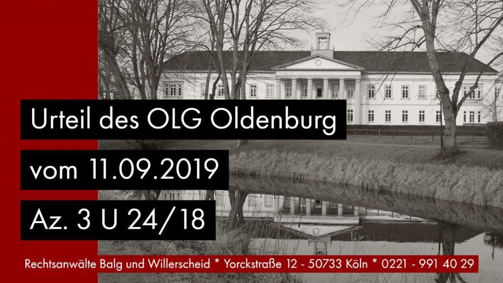Erbeinsetzung Abkömmlinge Testamentsauslegung - OLG Oldenburg Urteil vom 11.09.2019 Az. 3 U 24_18 - Rechtsanwalt und Fachanwalt für Erbrecht Detlev Balg Köln