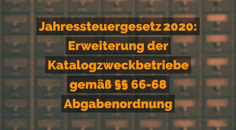Jahressteuergesetz 2020: Erweiterung der Katalogzweckbetriebe gemäß 66-68 Abgabenordnung | Kanzlei Balg und Willerscheid - Yorckstraße 12 * 50733 Köln